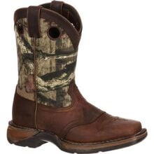 LIL' DURANGO® Little Kid Camo Saddle Western Boot