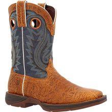 Rebel™ by Durango® Rustic Tan Navy Western Boot