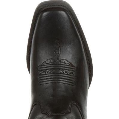 DRD0320, Durango� Women's Black Leather Western Boot