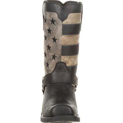 Durango Black Faded Flag Harness Boot