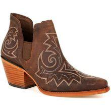Crush™ by Durango® Women's Coffee Brown Western Fashion Bootie