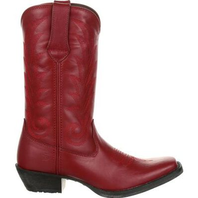Durango® Women's Red Leather Western Boot, , large