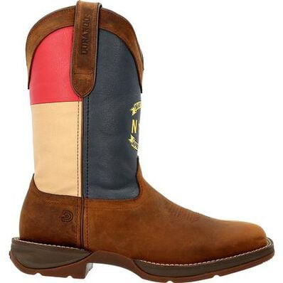 Rebel™ by Durango® North Carolina State Flag Western Boot, , large