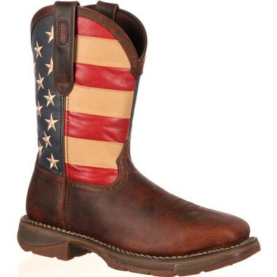 Rebel™ by Durango® Steel Toe Flag Western Flag Boot, , large