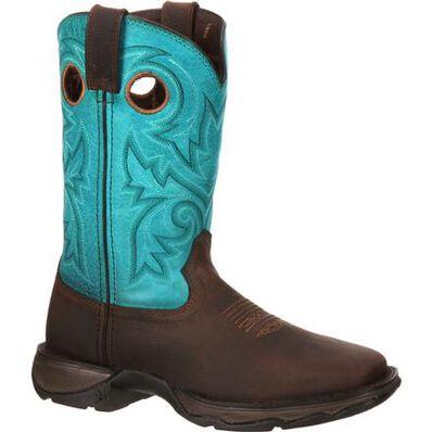 Lady Rebel Work™ by Durango® Women's Steel Toe Western Boot, , large