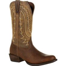 Durango® Rebel Frontier™ Flaxen Brown Western Boot