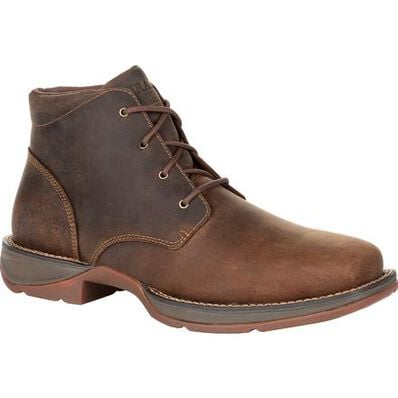 Durango® Red Dirt Rebel™ Steel Toe Chukka, , large
