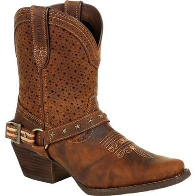 Crush™ by Durango® Women's Brown Ventilated Shortie Boot, , large