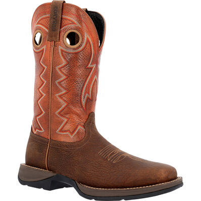 Rebel™ by Durango® Brown Ventilated Western Boot, , large