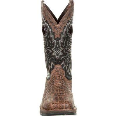 Rebel™ by Durango® Elephant Grain Western Boot, , large