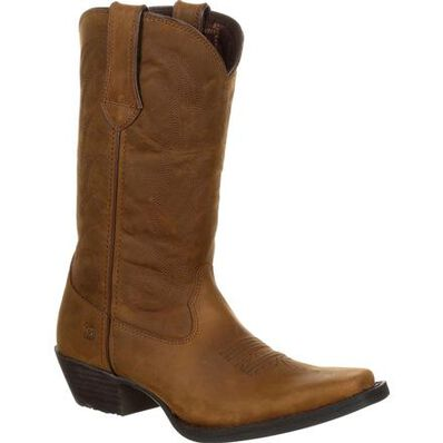 Durango® Women's Brown Leather Western Boot, , large