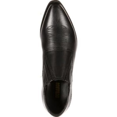 Crush by Durango Women's Black Western Shoe Boot, , large