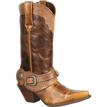 Crush™ by Durango® Women's Spur Strap Western Boot