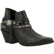 Crush™ by Durango® Women's Black Western Bootie