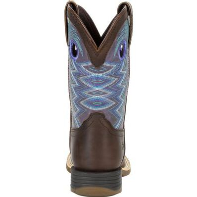 Durango Lil' Rebel Pro Big Kid's Amethyst Western Boot, , large