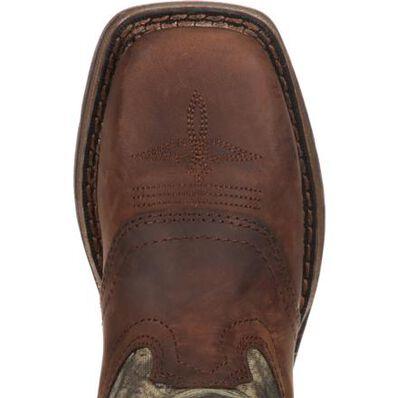 LIL' DURANGO® Big Kid Camo Saddle Western Boot, , large