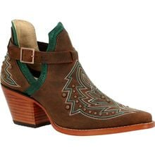 Crush™ by Durango® Women's Brown Studded Western Fashion Bootie
