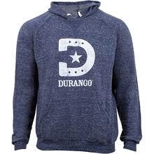 Durango® Unisex Heathered Blue Hooded Sweatshirt