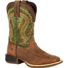 Lil' Durango® Rebel Pro™ Big Kid's Briar Green Western Boot
