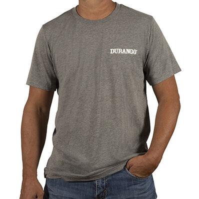 Durango® Unisex Triblend Tshirt, Grey, large