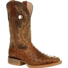 Durango® Rebel Pro™ Tobacco Full-Quill Ostrich Western Boot