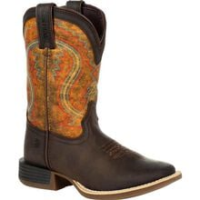Lil' Durango® Rebel Pro™ Little Kid's Burnt Orange Western Boot