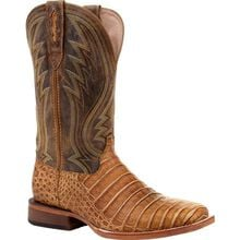 Durango® Premium Exotics™ Sunset Wheat Caiman Western Boot