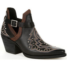Crush™ by Durango® Women's Black Studded Western Fashion Bootie