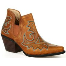 Crush™ by Durango® Women's Golden Brown Western Fashion Bootie