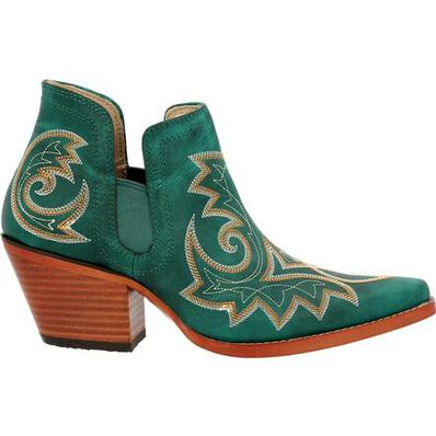 Crush™ by Durango® Women's Turquoise Western Fashion Bootie, , large