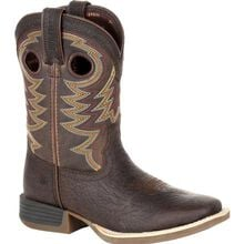 Durango® Lil' Rebel Pro™ Big Kid's Brown Western Boot