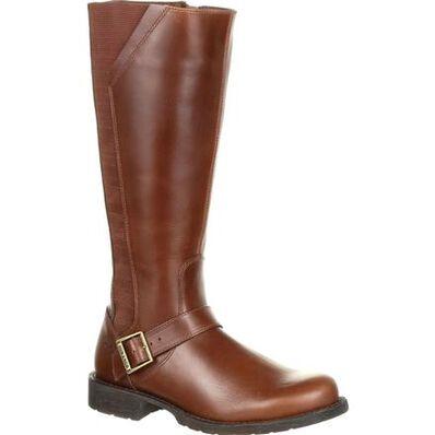 Crush™ by Durango® Women's Brown Riding Boot, , large