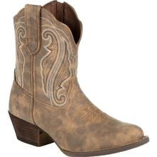 Crush™ by Durango® Women's Distressed Shortie Western Boot
