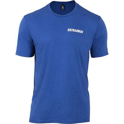 Durango® Unisex Triblend Tshirt, Deep Royal, large