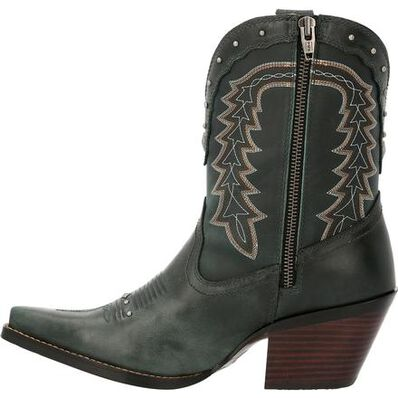Crush™ by Durango® Women's Vintage Teal Bootie Western Boot, , large