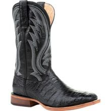 Durango® Premium Exotics™ Black Onyx Caiman Western Boot