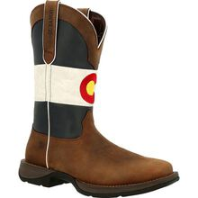 Rebel™ by Durango® Colorado Flag Western Boot