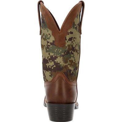 Durango® Westward™ Green Digi Camo Western Boot, , large