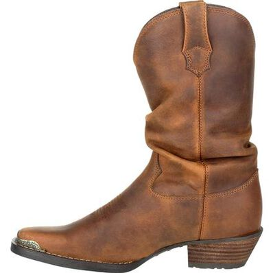 Crush™ by Durango® Women's Brown Slouch Western Boot, , large