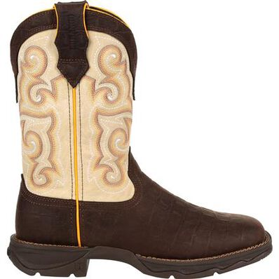 Lady Rebel™ by Durango® Gator Emboss Western Boot, , large