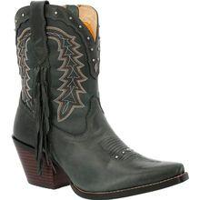 Crush™ by Durango® Women's Vintage Teal Bootie Western Boot