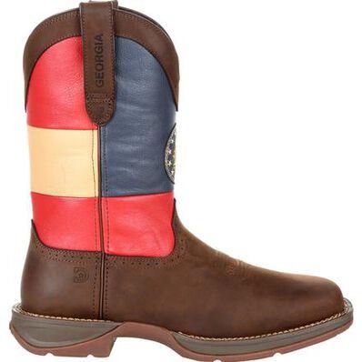 Rebel™ by Durango® Georgia State Flag Western Boot, , large