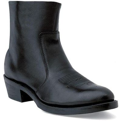 Durango® Black Side Zip Western Boot, , large