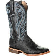 Durango® Premium Exotics™ Women's Full-Quill Ostrich Black Western Boot
