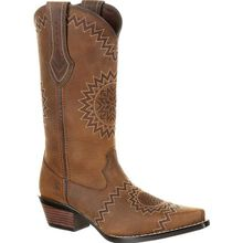 Crush™ by Durango® Women's Laser Etch Western Boot
