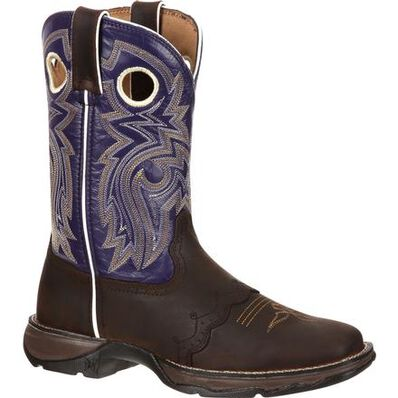 Lady Rebel™ by Durango® Women's Twilight n' Lace Saddle Western Boot, , large