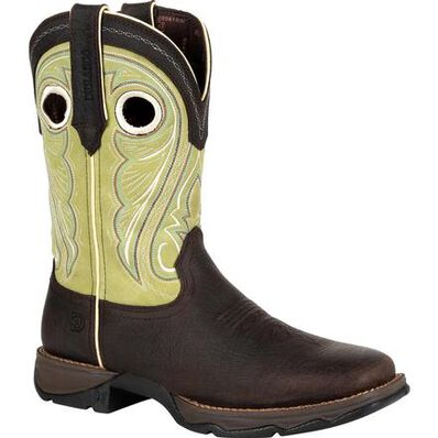 Lady Rebel™ by Durango® Women's Lime Western Boot, , large