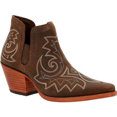 Crush™ by Durango® Women's Coffee Brown Western Fashion Bootie, , large