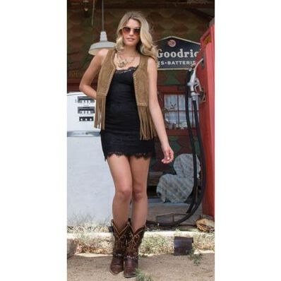 Crush™ by Durango® Women's Heartbreaker Concho Western Boot, , large