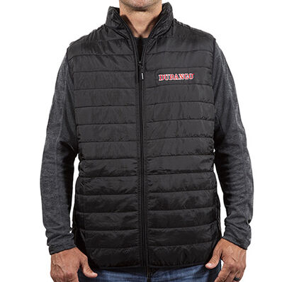 Durango® Unisex Black Puffer Vest, , large